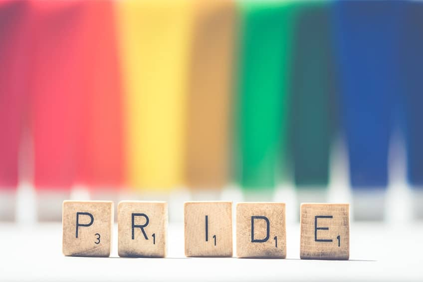 celebrate at the cville pride festival